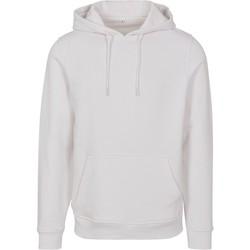 textil Hombre Sudaderas Build Your Brand BY084 Blanco