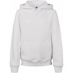 textil Hombre Sudaderas Build Your Brand BY117 Blanco