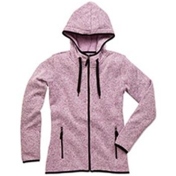 textil Mujer Chaquetas Stedman  Púrpura Jaspeado
