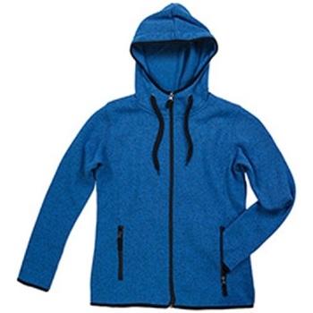 textil Mujer Chaquetas Stedman  Azul Jaspeado