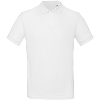 textil Hombre Polos manga corta B And C PM430 Blanco