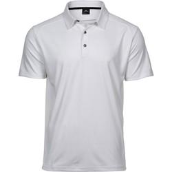 textil Hombre Polos manga corta Tee Jays TJ7200 Blanco