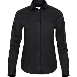 textil Mujer Camisas Tee Jays TJ4025 Negro