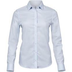 textil Mujer Camisas Tee Jays TJ4025 Azul Claro
