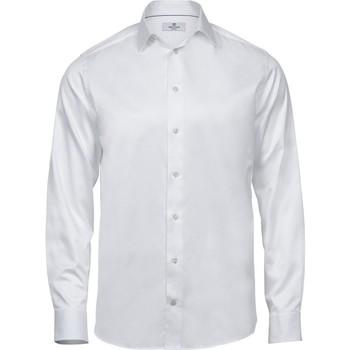 textil Hombre Camisas manga larga Tee Jays TJ4020 Blanco