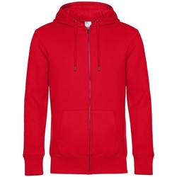 textil Hombre Sudaderas B&c WU03K Rojo