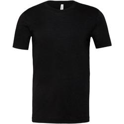 textil Tops y Camisetas Bella + Canvas CA3001CVC Negro Jaspeado