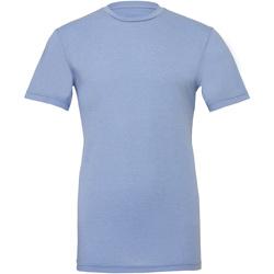 textil Tops y Camisetas Bella + Canvas CA3001CVC Azul Jaspeado