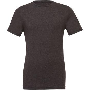 textil Tops y Camisetas Bella + Canvas CA3001CVC Gris Oscuro Jaspeado