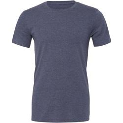 textil Tops y Camisetas Bella + Canvas CA3001CVC Marino Jaspeado