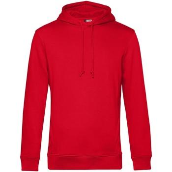 textil Hombre Sudaderas B&c WU35B Rojo