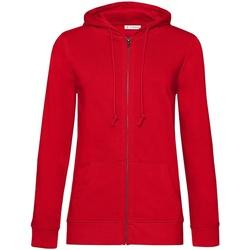 textil Mujer Sudaderas B&c WW36B Rojo