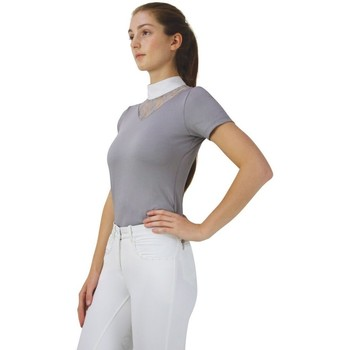 textil Mujer Camisas Hyfashion  Gris