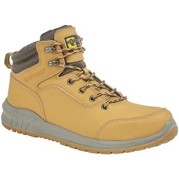 Zapatos Hombre Senderismo Grafters  Beige