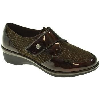 Zapatos Mujer Derbie Pitillos ZAPATO CUÑA  MARRON Marrón