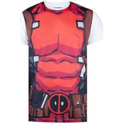 textil Hombre Camisetas manga corta Deadpool  Rojo
