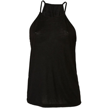 textil Mujer Camisetas sin mangas Bella + Canvas BE8809 Negro