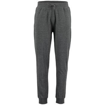 textil Hombre Pantalones de chándal Kustom Kit KK933 Gris Jaspeado Oscuro