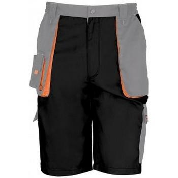 textil Hombre Shorts / Bermudas Result RS319 Negro/ Gris
