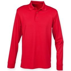 textil Tops y Camisetas Henbury H478 Rojo