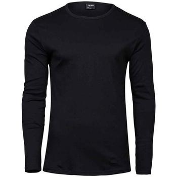 textil Hombre Camisetas manga larga Tee Jays T530 Negro