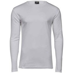textil Hombre Camisetas manga larga Tee Jays T530 Blanco