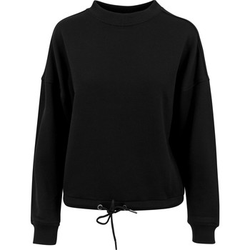 textil Mujer Sudaderas Build Your Brand BY058 Negro