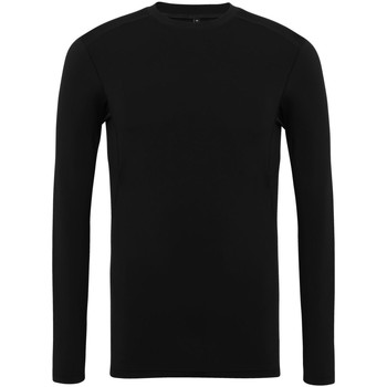 textil Hombre Camisetas manga larga Tridri TR016 Negro