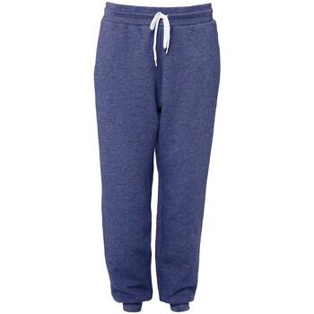 textil Pantalones de chándal Bella + Canvas BE126 Azul