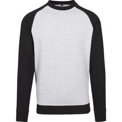 textil Hombre Camisetas manga larga Build Your Brand BY076 Negro