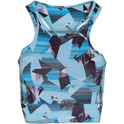 textil Mujer Sujetador deportivo  Tridri TR921 Azul