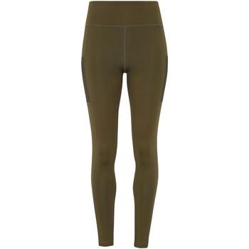 textil Mujer Leggings Tridri TR304 Verde Oliva