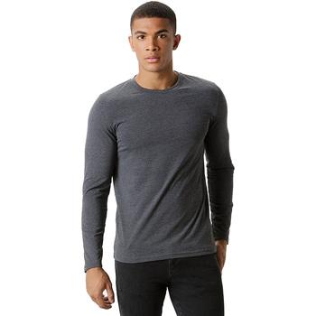 textil Hombre Camisetas manga larga Kustom Kit KK510 Gris