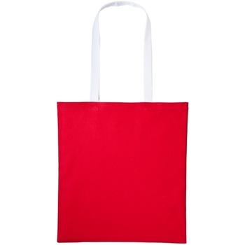 Bolsos Bolso shopping Nutshell RL150 Rojo/Blanco