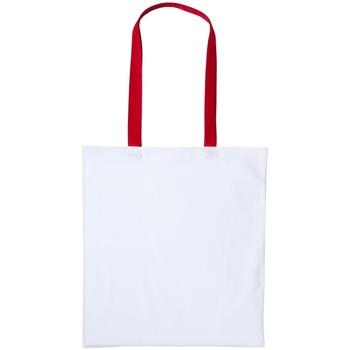 Bolsos Bolso shopping Nutshell RL150 Blanco/Rojo