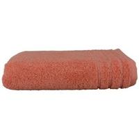 Casa Toalla y manopla de toalla A&r Towels RW7281 Rojo