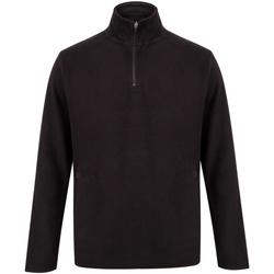 textil Sudaderas Henbury HB858 Negro