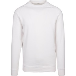 textil Hombre Sudaderas Build Your Brand BY094 Blanco