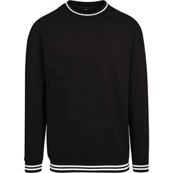 textil Hombre Sudaderas Build Your Brand BY104 Negro