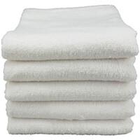 Casa Toalla y manopla de toalla A&r Towels Taille unique Blanco