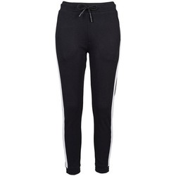 textil Mujer Pantalones de chándal Build Your Brand BY103 Negro