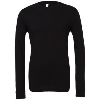textil Camisetas manga larga Bella + Canvas BE044 Negro