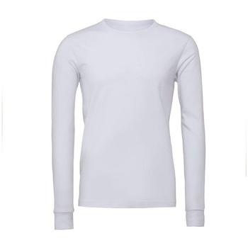 textil Camisetas manga larga Bella + Canvas BE044 Blanco
