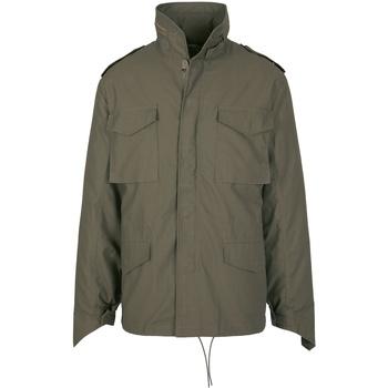 textil Hombre Chaquetas Build Your Brand BD308 Verde