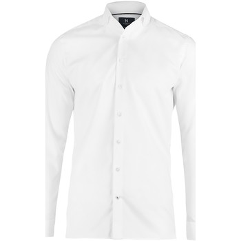 textil Hombre Camisas manga larga Nimbus N102M Blanco