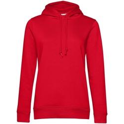textil Mujer Sudaderas B&c  Rojo