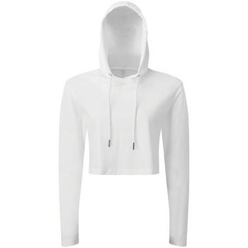 textil Mujer Sudaderas Tridri TR088 Blanco