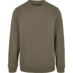 textil Hombre Sudaderas Build Your Brand BB003 Verde