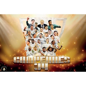 Casa Afiches, posters Real Madrid Cf TA6614 Multicolor