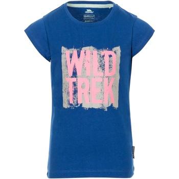 textil Niña Camisetas manga corta Trespass  Azul